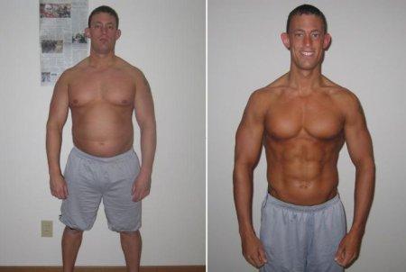 бодибилдинг фото до и после